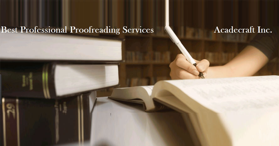What are Professional Proofreading Services?